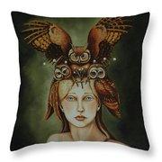 Wisdom Throw Pillow