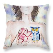 Wisdom Within 2 Throw Pillow