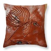 Wise Eyes - Tile Throw Pillow