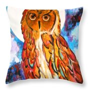 Wise Old Man Throw Pillow