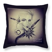 Wise Thinker Throw Pillow