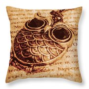 Wise Words And Keepsakes Throw Pillow