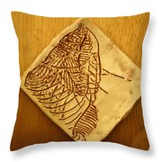 Wiseman - Tile Throw Pillow