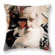 Wisened Throw Pillow