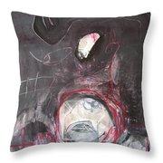 Wish Moon Throw Pillow