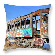 Wishing For Better Days Throw Pillow by Gary Whitton