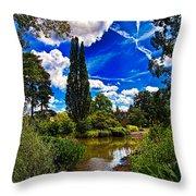 Wisley Gardens Throw Pillow
