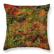 Wisps Of Autumn Throw Pillow
