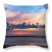 Wispy Cloud Bay Throw Pillow