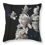 Wipsy Mini Magnolias Throw Pillow