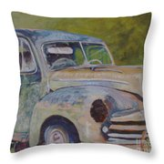 Wistful In Winchendon Throw Pillow