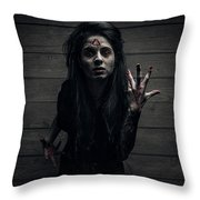 Witch 2 Throw Pillow
