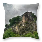 Witch S Tit_hdr Throw Pillow