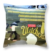 Witchcraft Bombs Away  Throw Pillow
