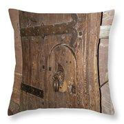 Witches Bite Door Heidelberg Castle Throw Pillow