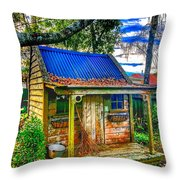 Witches House Throw Pillow