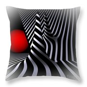 Witchhat Opart Throw Pillow