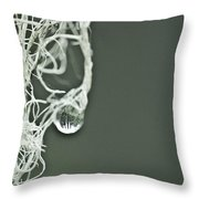 Witch's Hair Throw Pillow