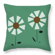 Witco Flowers  Throw Pillow