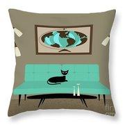Witco World Throw Pillow