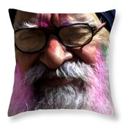 With Age Throw Pillow
