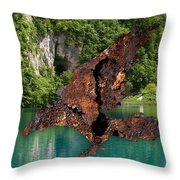 With Air I Rise Throw Pillow