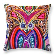 With Deep Thoughts And Tears - IIi Throw Pillow