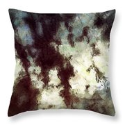 With Fear And Trembling Throw Pillow