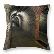 With Gear Throw Pillow