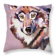 With Intent Throw Pillow by Bob Coonts