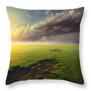 With Joy Fulfilled  Throw Pillow