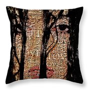 With Love.. Throw Pillow