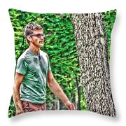 With Purpose Throw Pillow
