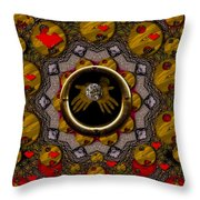 With The Future In Our Soft Hands Throw Pillow