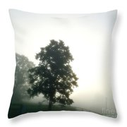 With The Rising Of The Sun 2 Throw Pillow