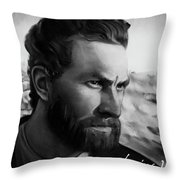 With Theo Support - There Is No Stopping Him Throw Pillow