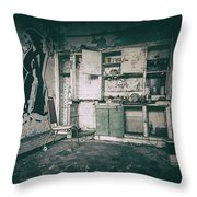 With Time It All Falls Apart Throw Pillow