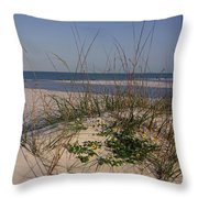 Withering Dunes Throw Pillow