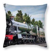 Witherslack Hall 4-6-0  Throw Pillow
