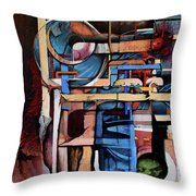 Within And Without Throw Pillow