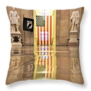 Within Capitol Walls  Throw Pillow