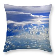 Within Clouds Throw Pillow
