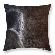 Within The Flicker Of Dreams Throw Pillow