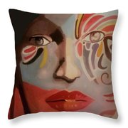 Within The Outside Throw Pillow