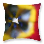 Within The Tulip Throw Pillow