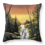 Without Interruption  Throw Pillow