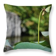 Without Protection Number Four Throw Pillow