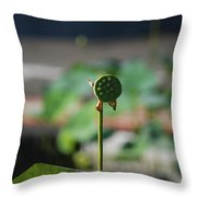 Without Protection Number Two Throw Pillow