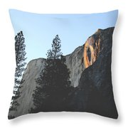 Without The Fall Throw Pillow