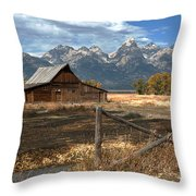 Withstanding The Test Of Time Throw Pillow